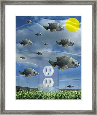 New Energy Framed Print by Keith Dillon