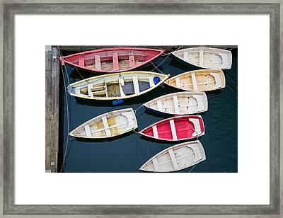 New England Boats 3  Framed Print by Emmanuel Panagiotakis