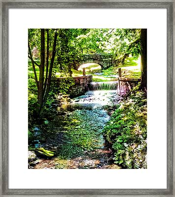 Framed Print featuring the photograph New England Serenity by Kathy Kelly
