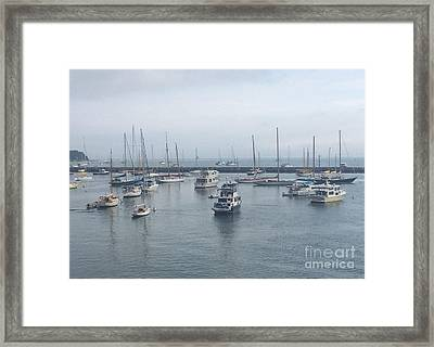 New England Charm Framed Print