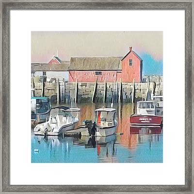 Rockport, Massachusetts Framed Print