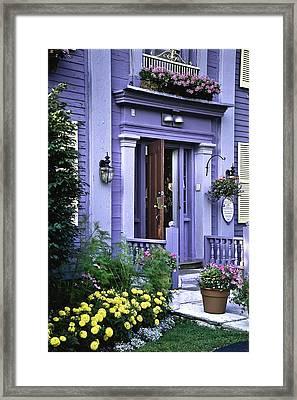 New England Inn Framed Print by Mark Coran