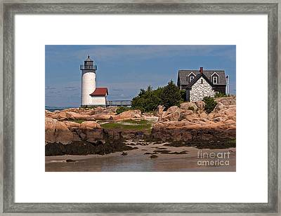 New England Light Framed Print