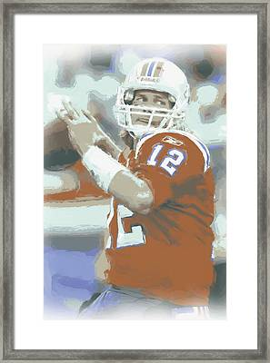 New England Patriots Tom Brady 2 Framed Print