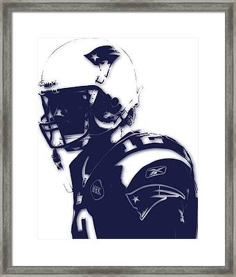 New England Patriots Tom Brady 4 Framed Print