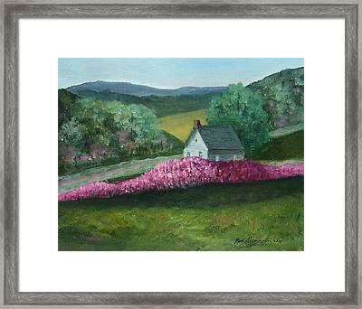New England Spring Framed Print