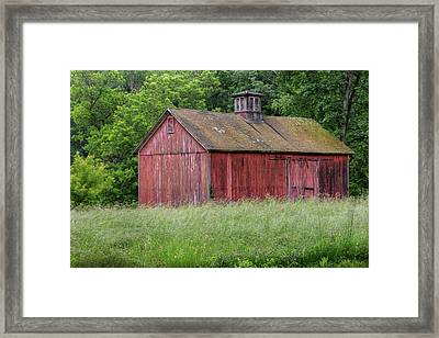 New England Summer Barn 2016 Framed Print by Bill Wakeley