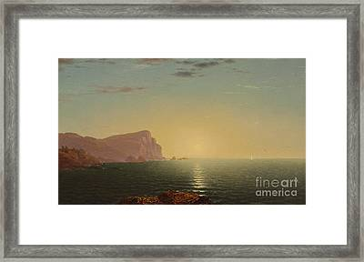 New England Sunrise Framed Print