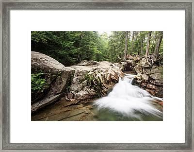 New England Waterfall Framed Print