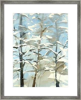 New England Winter Scape No.45 Framed Print