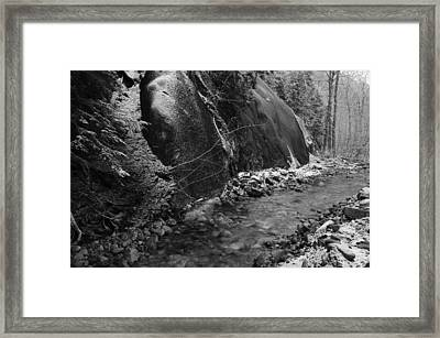 New Fallen Snow Framed Print