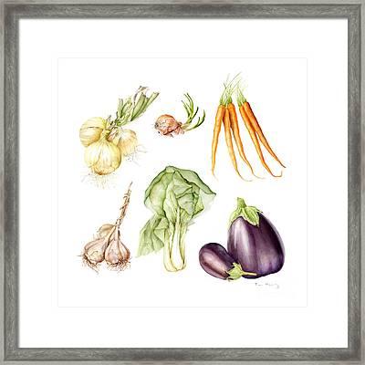New Farmers Market Study Framed Print