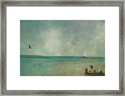 New Friends Framed Print