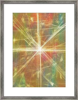 New Galaxy Framed Print by Dan Sproul