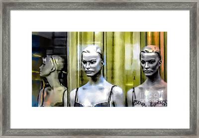 New Graces 2 Framed Print
