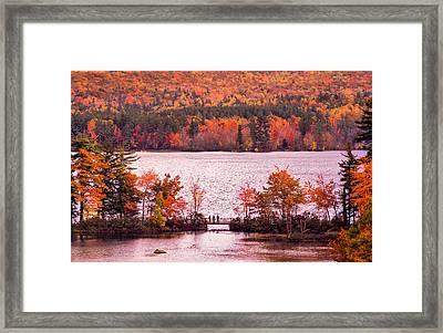 New Hampshire Fall Framed Print