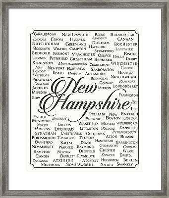 New Hampshire Framed Print by Finlay McNevin