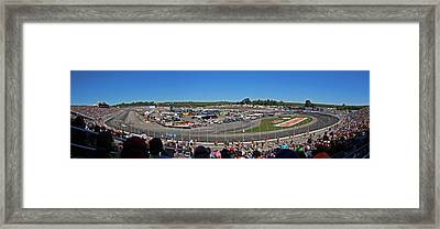 New Hampshire Motor Speedway Framed Print by Juergen Roth