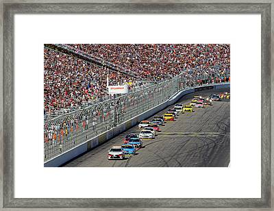 New Hampshire Motor Speedway Pace Car Framed Print by Juergen Roth