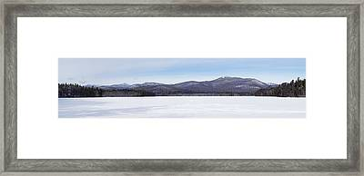 New Hampshire White Mountains Panorama Framed Print by Toby McGuire