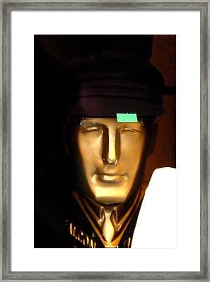 New Hat For Nigel Framed Print by Jez C Self