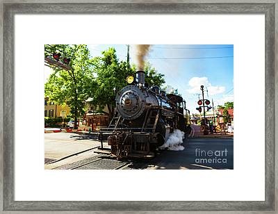 New Hope And Ivyland Railroad  Framed Print