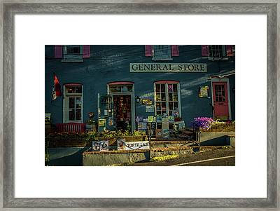 New Hope General Store Framed Print