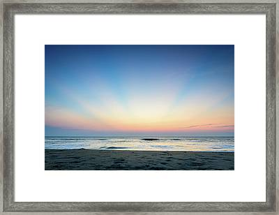 New Horizon Framed Print
