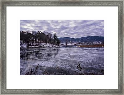 New Ice Framed Print by Tom Singleton