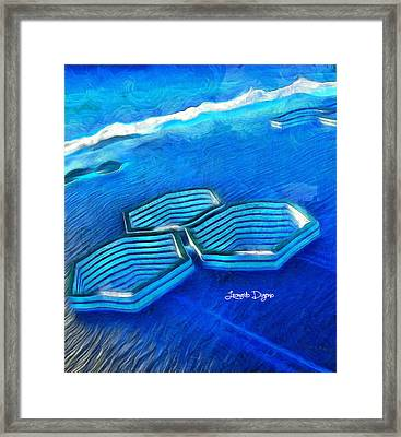New Islands - Da Framed Print by Leonardo Digenio