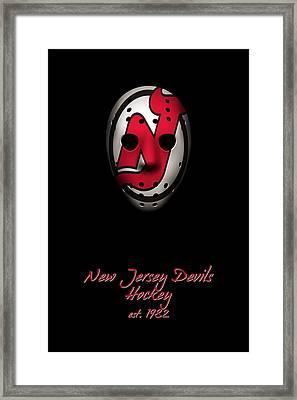 New Jersey Devils Established Framed Print