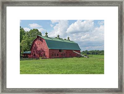 New Jersey Fresh Framed Print by Capt Gerry Hare