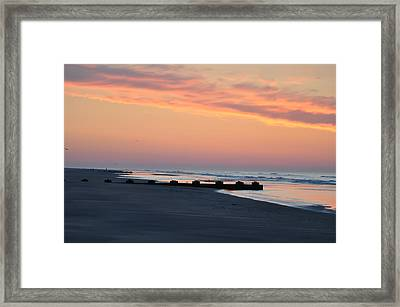New Jersey Morning Framed Print by Bill Cannon