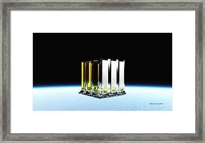 New Jerusalem  The City Of Heaven Framed Print