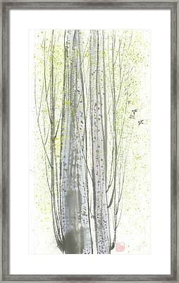 New Leaves Framed Print by Mui-Joo Wee