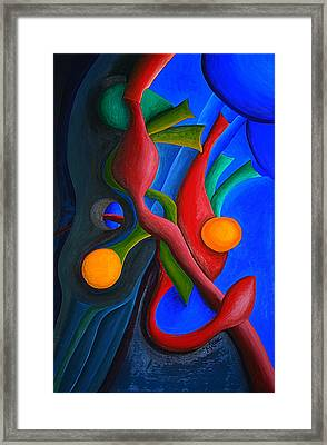 New Life Form Framed Print by Michael C Crane
