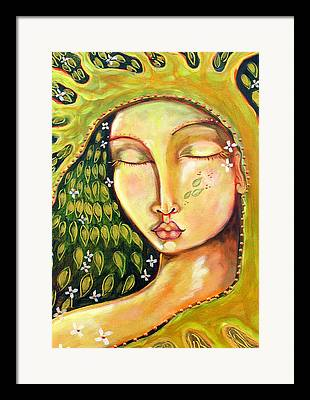 Cosmic Women Framed Prints