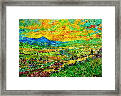 New Mexican Sunset Framed Print by Michael Durst
