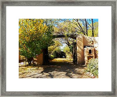 New Mexico Adobe Framed Print by Joseph Frank Baraba