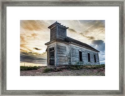 New Mexico Church #3 Framed Print