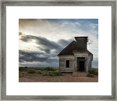 New Mexico Church Framed Print