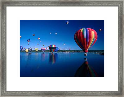 New Mexico Hot Air Balloons Framed Print