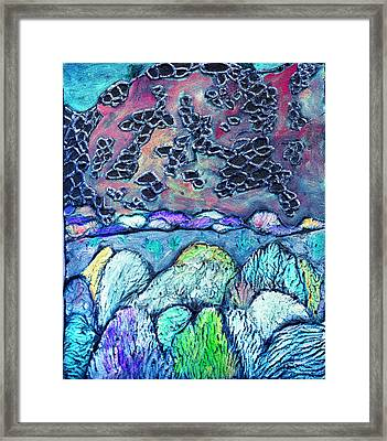 New Mexico Landscape Framed Print by Wayne Potrafka