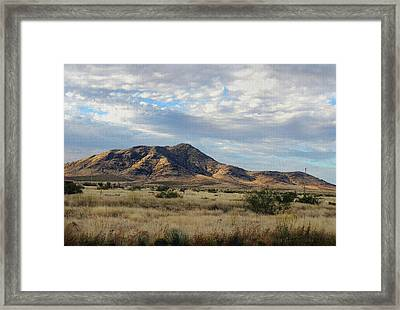 New Mexico Morning Framed Print by Gordon Beck