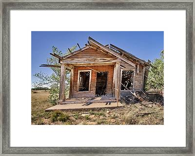 New Mexico Real Estate Framed Print