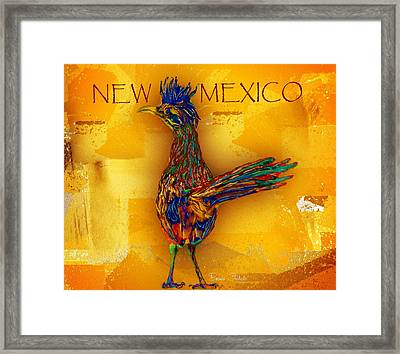 New Mexico Roadrunner Framed Print