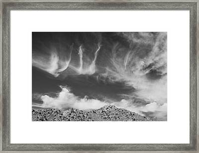 New Mexico Sky Framed Print