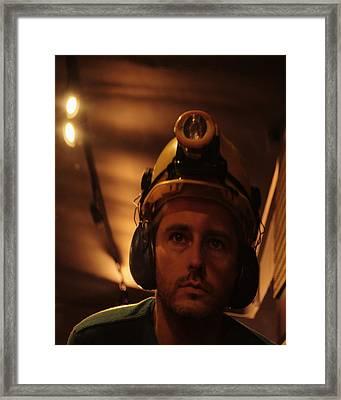 New Miner Framed Print