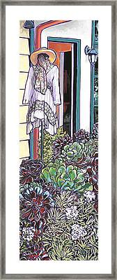 New Moon Boutique Framed Print