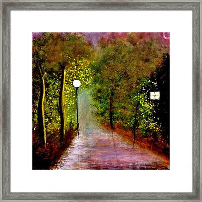 New Moon... Framed Print